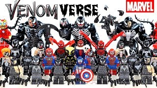 I am Venom Symbiote Venomverse Infection 2018 Unofficial LEGO Minifigures