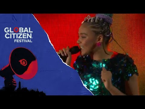 Sho Madjozi Performs Huku | Global Citizen Festival NYC 2018
