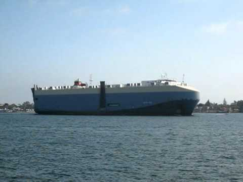 Pasha Hawaii Personal Vehicle Ship Leaving San Diego Youtube