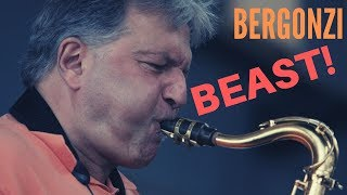 Those 7 Times Jerry Bergonzi Went Beast Mode | bernie's bootlegs