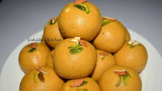 Download Video Besan ke Ladoo | बेसन के लड्डू हलवाईके जैसे - with English sub. Vishakha's Kitchen MP3 3GP MP4