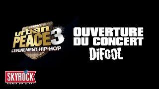 Ouverture du concert Urban Peace 3 avec Difool, Romano, Le Belge et Fred de Skyrock