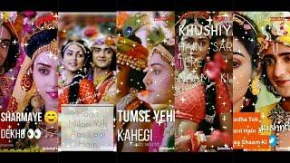 Janmashtami Special Full Screen WhatsApp status| Radha Toh Bani Hai Sirf Shyam Ki #UditNarayan #Alka