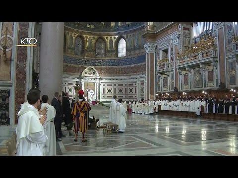 Messe célébrée par le Pape François à l'intention des Dominicains