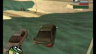 GTA San Andreas Tsunami Attack.wmv