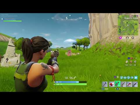 Fortnite Battle Royal my game highlights