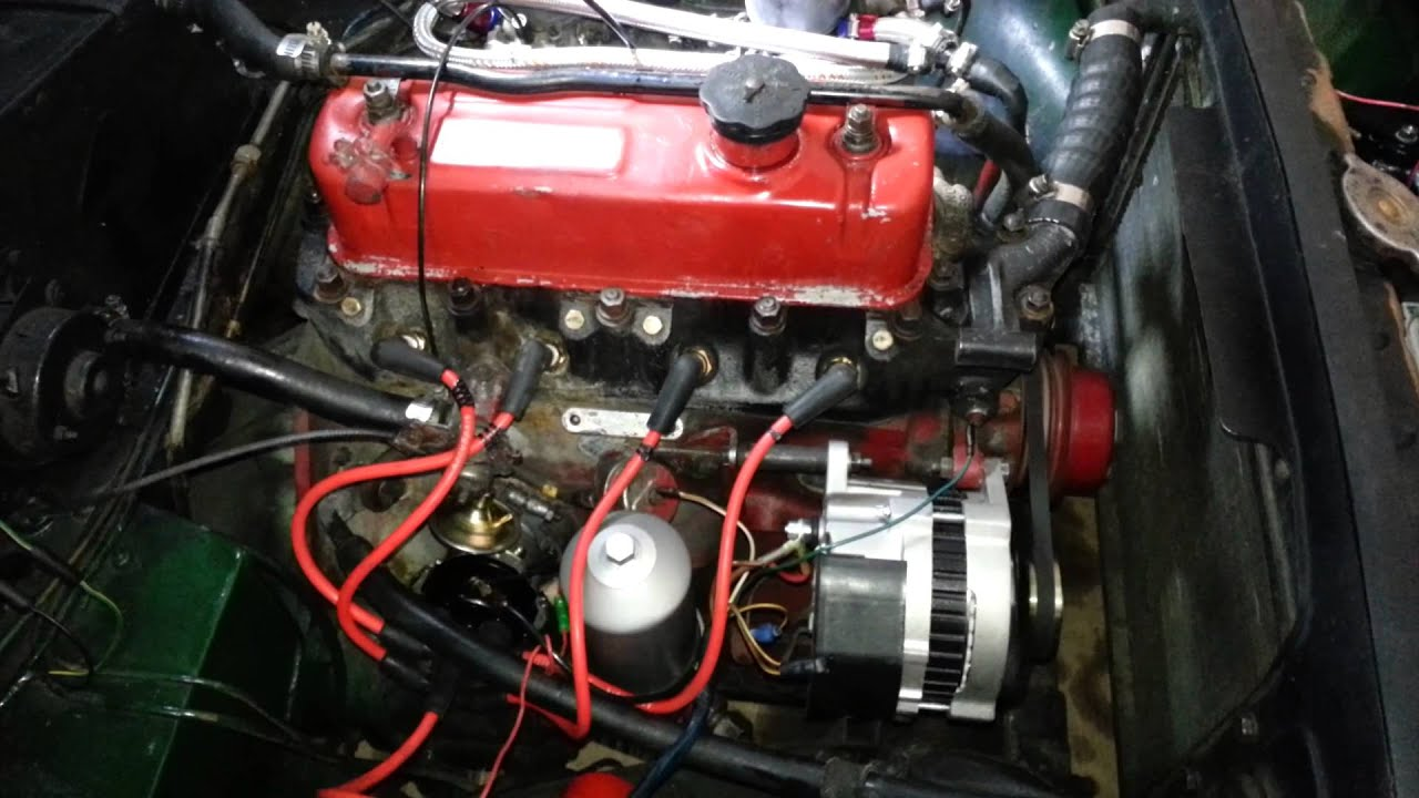 Mgb Wiring Dizzy Schematics Diagrams 1978 Harness Installation 1970 Not Turning Over New Distributor Install Youtube Rh Com 1975 Diagram