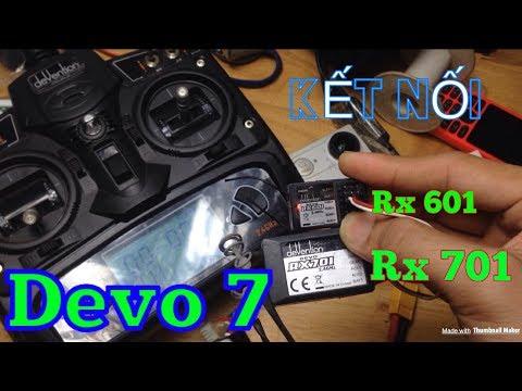 Kết nối Devo7 với Rx 701, Rx 601 - KimGuNi
