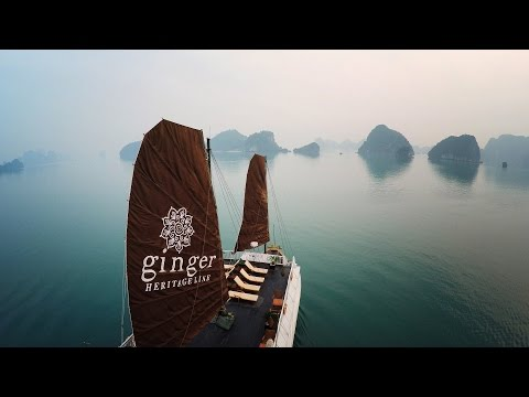 Ha Long Bay - Skycam Drone View