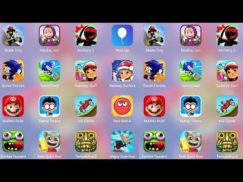 Mario,Sonic,Masha,ArcheryZ,RiseUp,Subway,Railway,Teeny,HillClimb,RedBall,Tsunami,TomRun,Temple,Gran