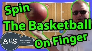 How To Spin The Basketball On Your Finger
