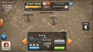 How much xp get from 50 vs 50 clan war |Clash of clans