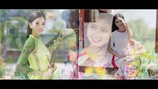 Sexy beauty of Vietnamese Ao Dai Vẻ đẹp gợi cảm của áo dài Việt