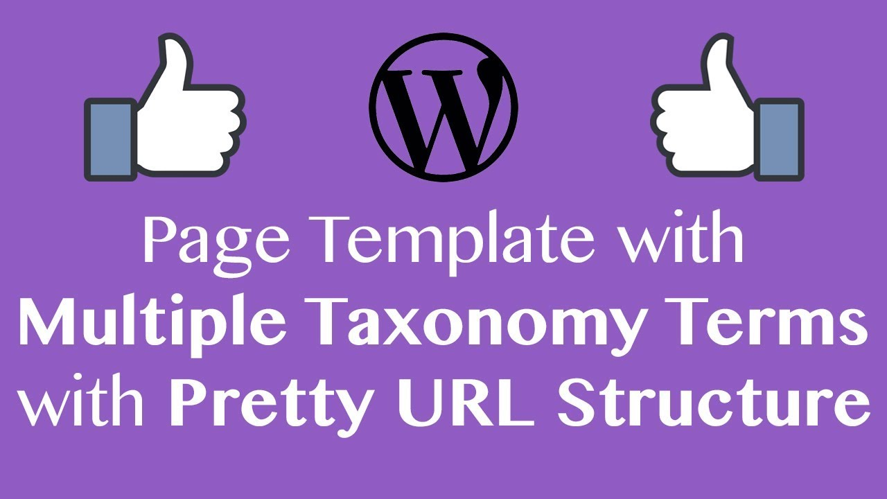 Create User Flow With Multiple Custom Taxonomy Terms Pretty Url