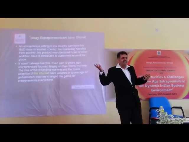 New age Entrepreneurship in the Dynamic Indian Business Environment   Jagdish Ahuja