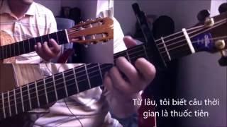 LK Sau le bong - Ai kho vi ai (Le Quyen) [Hoa tau Duo Guitar] [K'K]