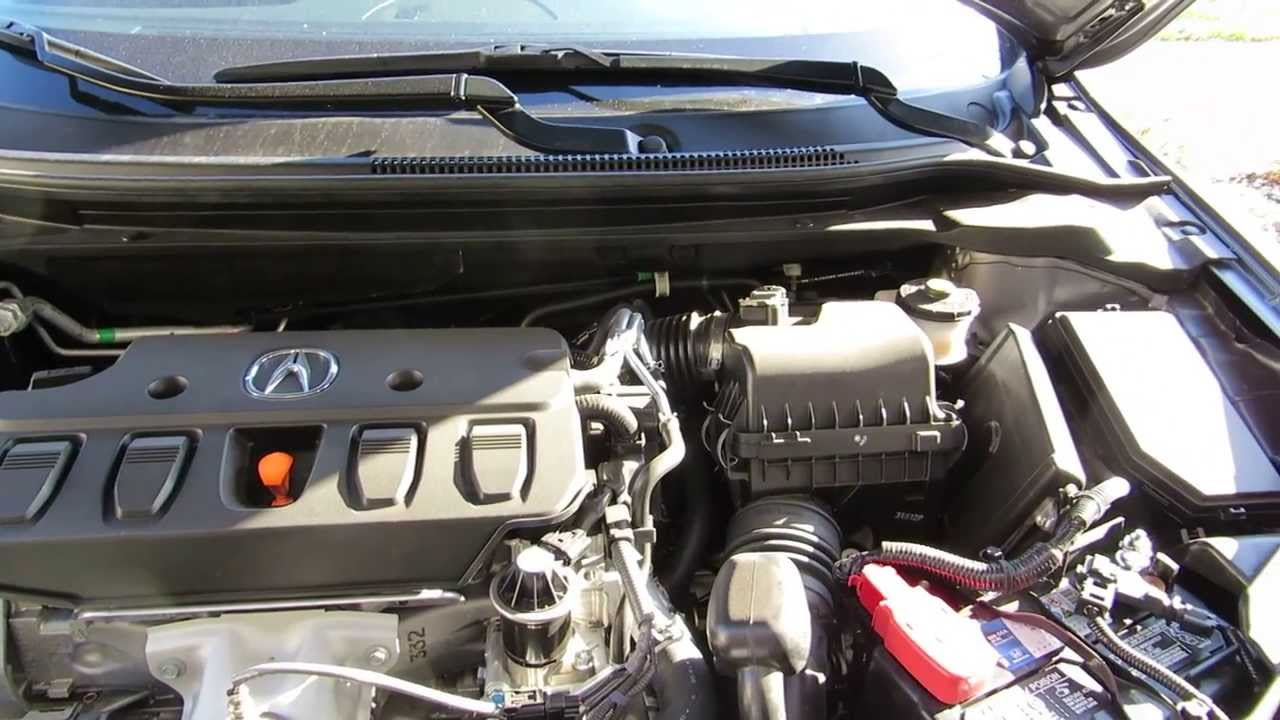 How to change the Acura ILX engine air filter - YouTube