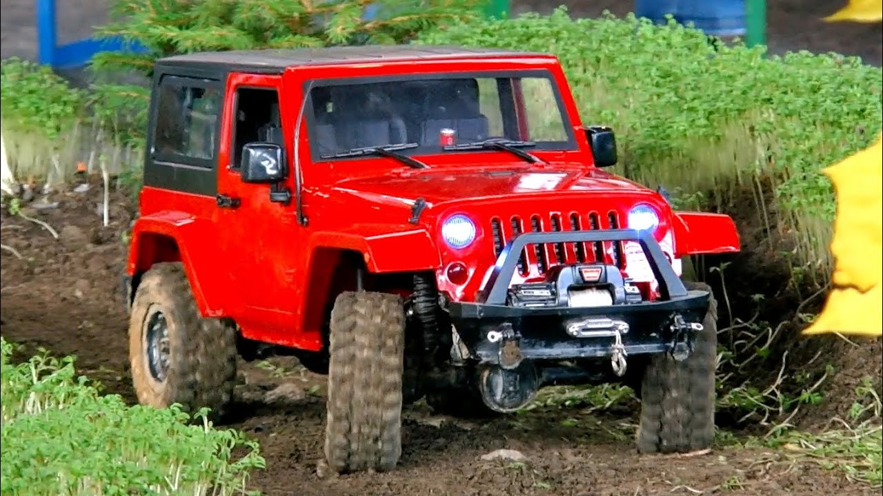 rc off road crawler scale model wrangler jeep in action faszination modellbau 2015 youtube. Black Bedroom Furniture Sets. Home Design Ideas