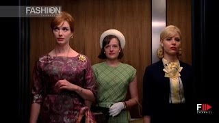 MAD MEN fashion style - fall 2013 by Fashion Channel