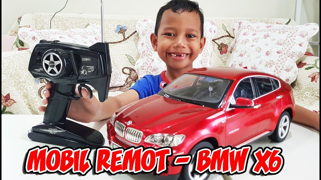 Mainan Mobil Remot Bmw X6 Keren Seperti Mobil Beneran Youtube