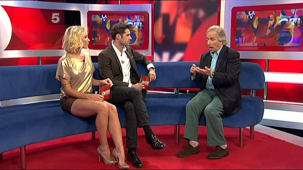 tv presenter upskirt