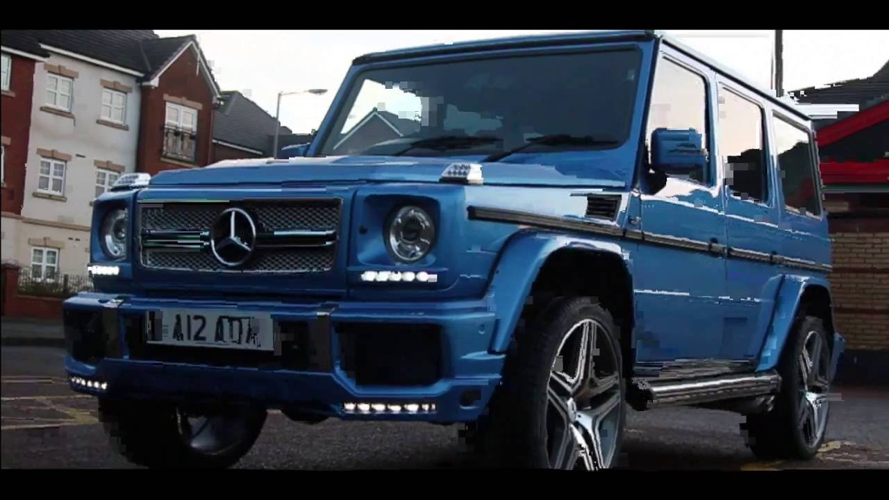 MERCEDES G WAGON G63 AMG W460 W461 W463 CONVERSION