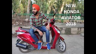 NEW HONDA AVIATOR 2018 | WALKAROUND | REVIEW |