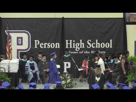 Person High School - Graduation - Class Of 2019