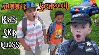 DEPUTY JAKE FINDS SUMMER SCHOOL KIDS BREAKING RULES!