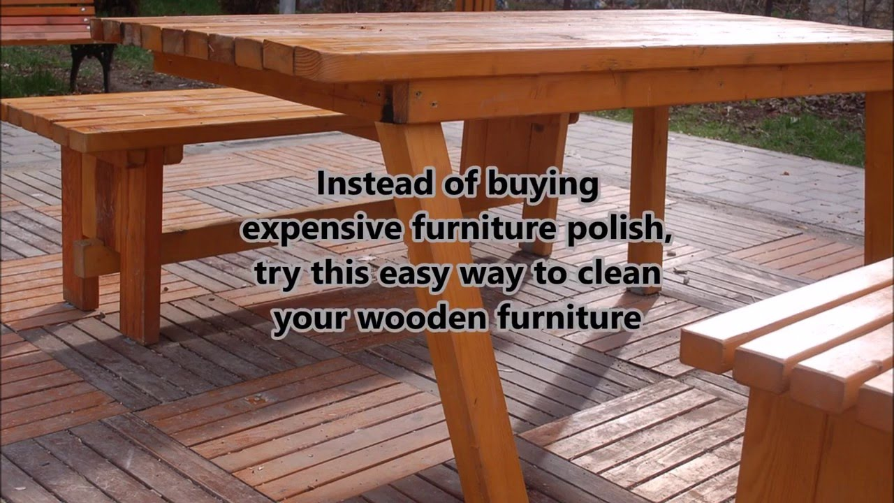 Cleaning Wooden Furniture with Black Tea- Cheap\u0026Easy Way - YouTube