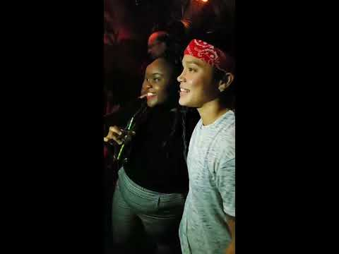Big Brother 20 Kaycee Clark 1ST IG Live at the Finale Cast Party on Sep 27,  2018