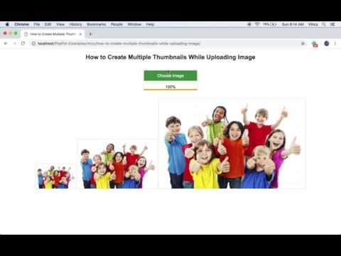 How to Create Multiple Thumbnails While Uploading Image - Phppot