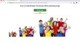 How to Create Multiple Thumbnails while Uploading Image