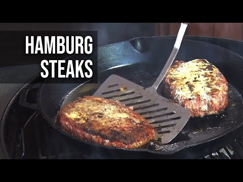 Hamburg Steak recipe by the BBQ Pit Boys