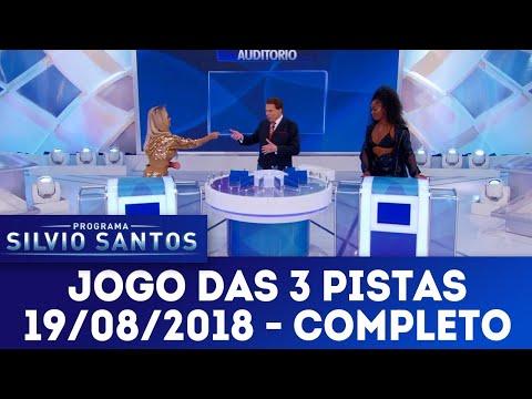 Jogo das 3 Pistas com Lexa e Iza | Programa Silvio Santos (19/08/18)