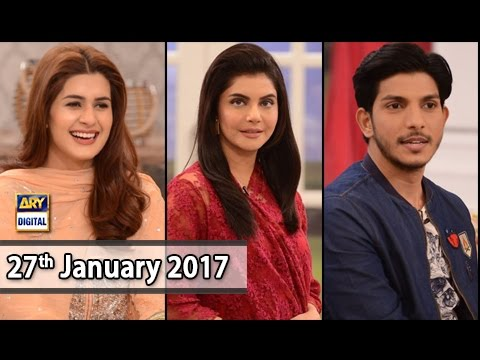 Good Morning Pakistan - Guest: Mohsin Abbas & Kubra Khan - 27th January 2017