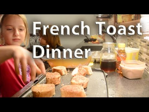 HomeStead French Toast Dinner | HomeSteadHow.com