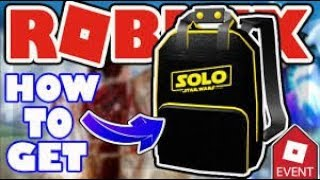 HOW TO GET SOLO BRANDED BACKPACK!