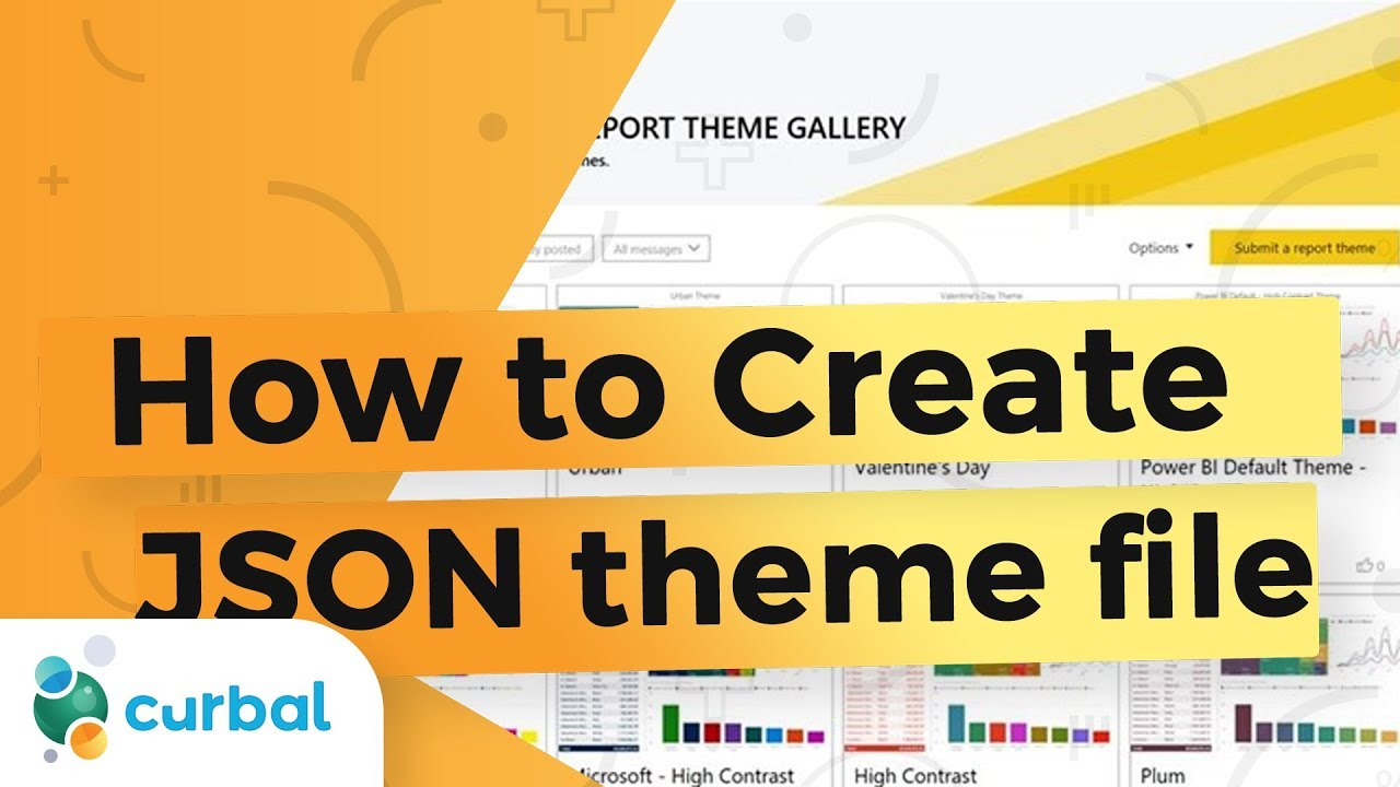 How to create a Power BI theme with a JSON file - Microsoft