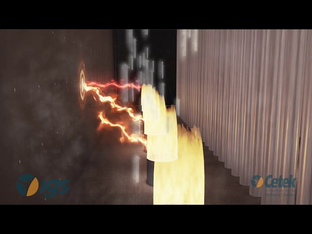 Cetek High Emissivity Coating for Fired Heater Refractory