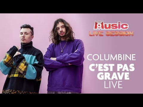 Youtube: C'est pas grave LIVE – Columbine pour sa M6 Music Live Session