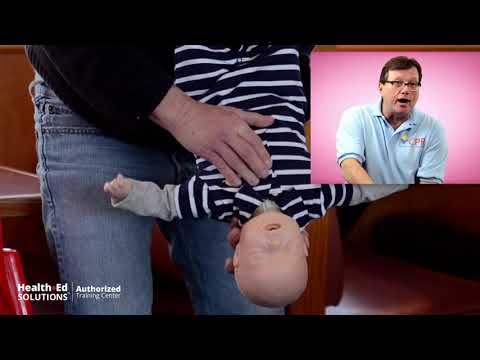 Choking Baby / Infant First Aid - New 2020 AHA / ILCOR Guidelines