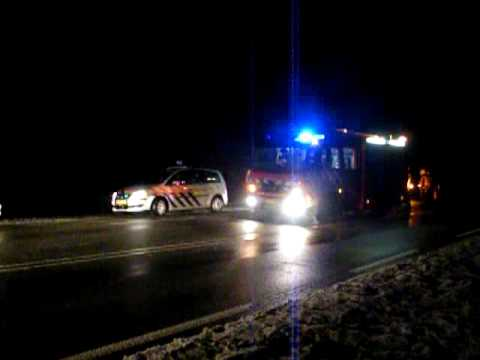 Verkeersongeval Provincialeweg Venhuizen