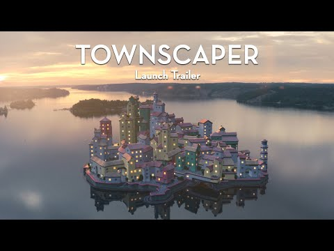 Townscaper Now Available on PC and Switch!