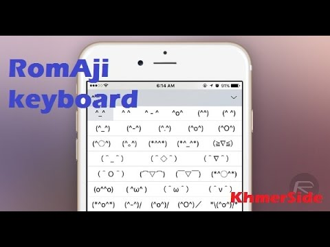 How To Add More Symbols In Idevices With Romaji Keyboard On Iphone