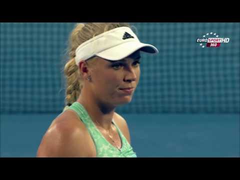 Azarenka V.S Wozniacki Highlights (Australian Open 2015)