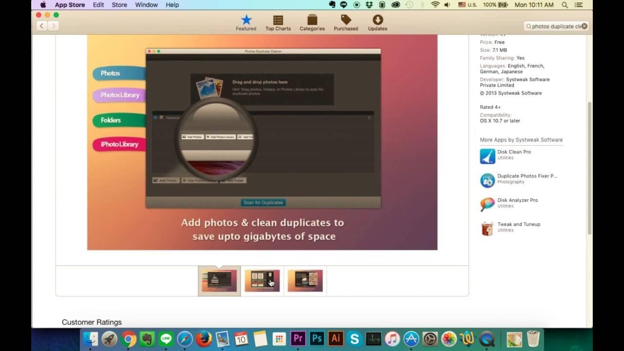 How To Remove Duplicate Photos For Mac Osx Yosemite, Os X El Capitan, Macos