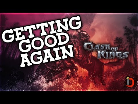 LEARNING TO BE GOOD AT CLASH OF KINGS AGAIN - GOING OVER ALL THE NEW UPDATES - Clash Of Kings