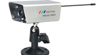 Обзор!!! Беспроводная камера на TV частоте уличная с ИК подсветкой