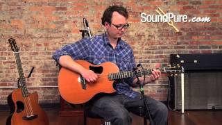 McPherson Acoustic Guitar Comparsion: Zircote vs. Cocobolo